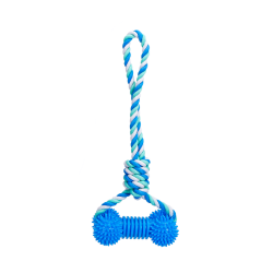 12*COTTON ROPE TOY+TPR...